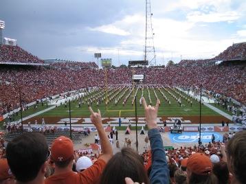 10/8/2005: Texas-ou game, Cotton Bowl, Dallas