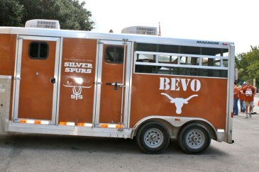 9/26/2010: In his trailer before the UCLA game, DKR