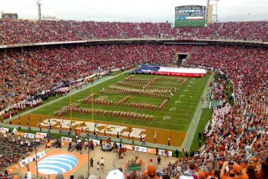 10/11/2014: Bevo's last Texas-ou game to attend, Cotton Bowl, Dallas